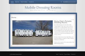 Website design screenshot - Mobile Honey Wagon - Albuquerque, NM